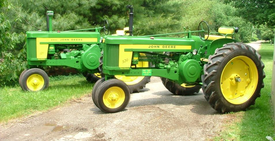Restore a Tractor