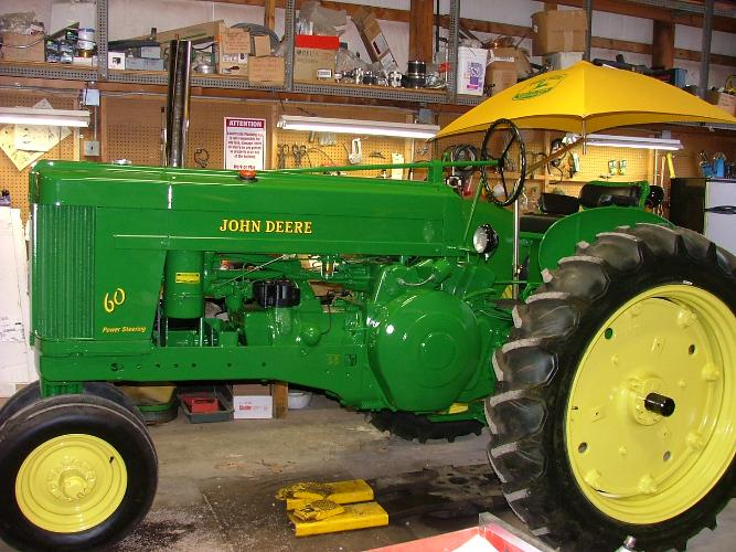 A Professionally Restored Tractor by Terry's Tractor Restoration